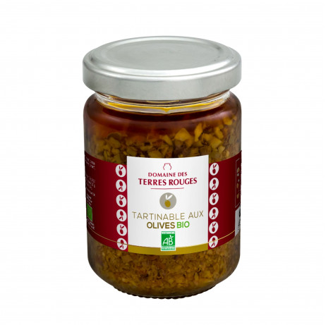 Tartinable aux Olives Bio 120g