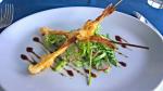 Brochettes de crevettes au balsamique -  4 personnes