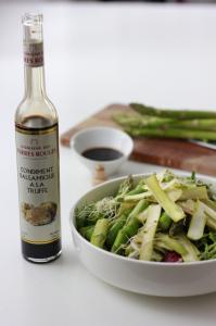 Salade d'Asperges Vertes au Vinaigre de Truffe– 4 personnes