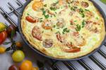 Tarte fine Tomate et chèvre à la moutarde à l'Ail des Ours - 4 personnes